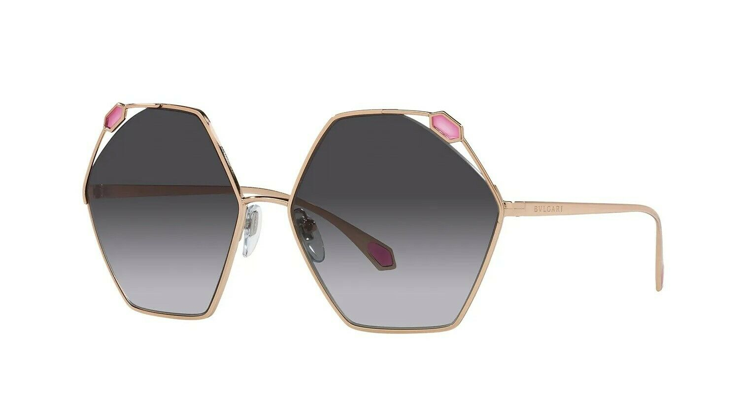 Bvlgari SERPENTI BV 6160 Rose Gold/Grey Shaded (2014/8G) Sunglasses