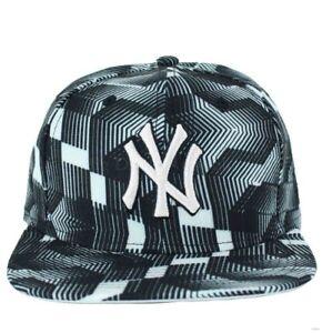New Era MLB 9Fifty Ny New York Yankees Blanco y Negro Gorra Béisbol ... 0d743b758b4