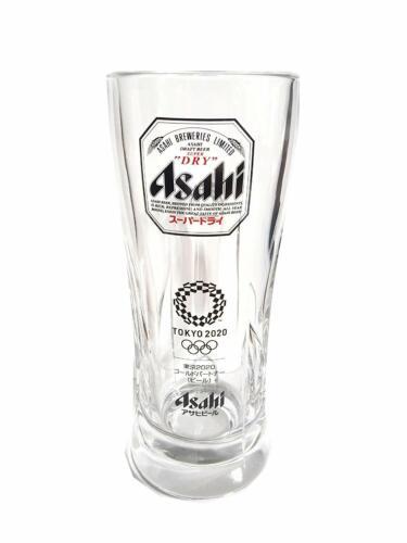 Beer Mug Glass 2020 Tokyo Olympic version 0.55L Japan limited ASAHI SUPER DRY
