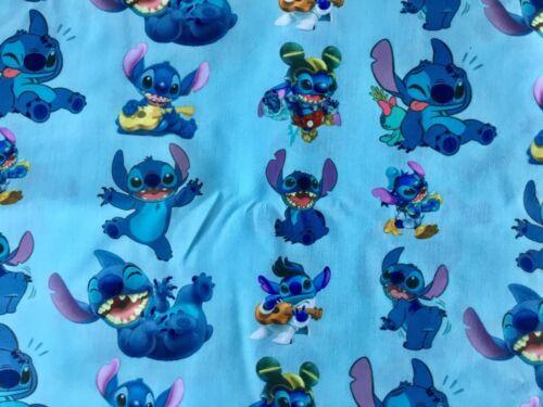 FQ Disney Lilo et Stitch Alien Elvis Hawaii en polycoton tissu personnage