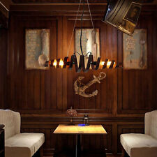 E27 Retro Vintage Fashion Iron Pendant Light Restaurant Bar Ceiling Hanging Lamp