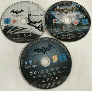 3-x-Batman-ps3-Playstation-3-Spiele-Disc-Bundle-Arkham-City-Asylum-Origins