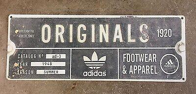 adidas originals vintage poster