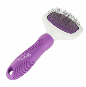 Details About Slicker Brush For Small And Large Dogs By Poodle Pet