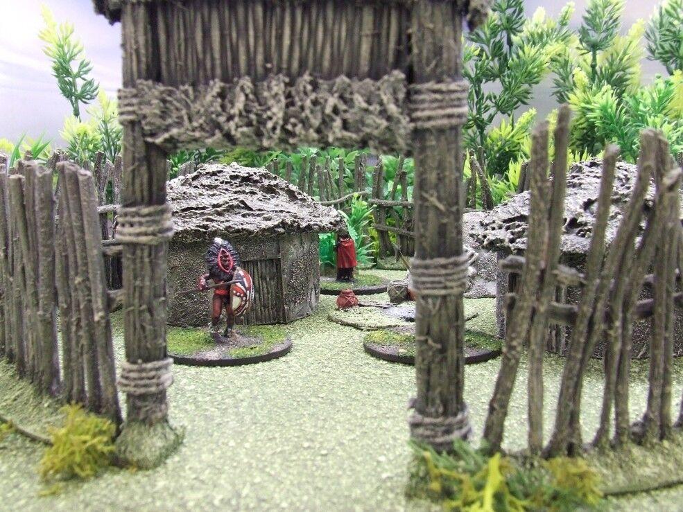 gran venta Pueblo Pueblo Pueblo colonial africano 28 mm (Marrón) Pintado-Congo muerte en el continente oscuro  popular