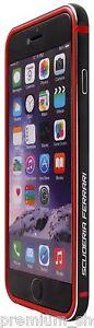 VERITABLE-FERRARI-Pare-chocs-ClipOn-Coque-Cadre-pour-Apple-iPhone-6S-6-S-4-7-034