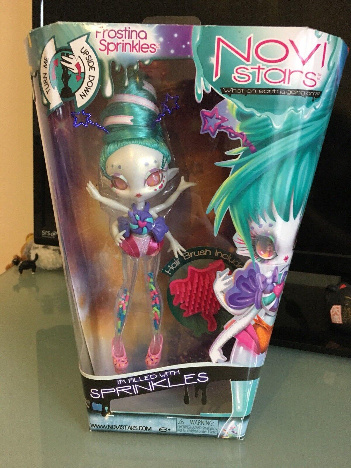 Novi Novi Novi Stars Frostina Sprinkles Rare Doll Bnib Nrfb Boxed Glitter 8f6b78