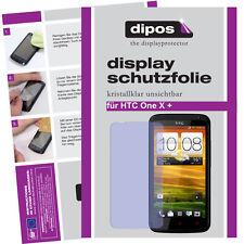 2x HTC One X+ Schutzfolie klar Displayschutzfolie Folie unsichtbar Kristallklar
