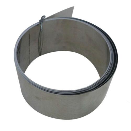 Platte Blatt Blechband Edelstahl dünnes Band Folie Feineplatte 0,2 mm x100mm x1m