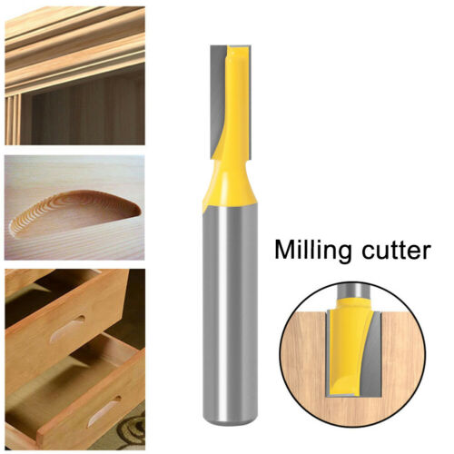 8mm Shank Straight Edge Trimming Router Bit Endmill Milling Cutter 6x16.5