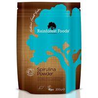 Rainforest Foods Organic Spirulina Powder 200g