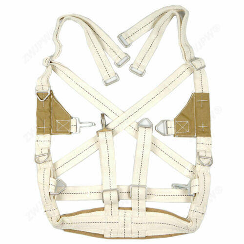 MILITARY WW2 US PARATROOPER AIRBORNE T-5 PARACHUTE HARNESS STRAP NORMANDY D-DAY