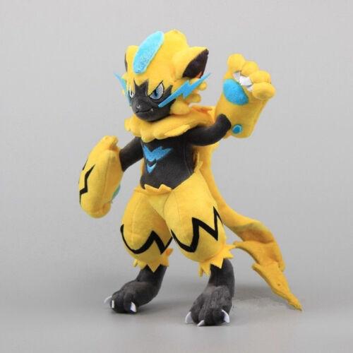30CM Plüschtier Pokemon Ultra Sun Moon Zeraora Poke Plüsch Stofftier Spielzeug