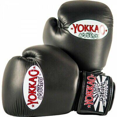 YOKKAO MATRIX BLACK BOXING GLOVES Sparring Glory Muay Thai Twins