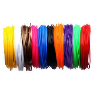 100m filament f r 3d stift pla 10 farben 3d drucker 3d pen starterset set ebay. Black Bedroom Furniture Sets. Home Design Ideas