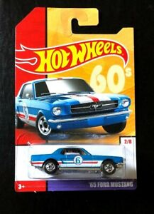 Hot Wheels Throwback Series '65 Ford Mustang Lot Of 6 New 2019 Target Exclusive