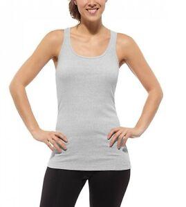 New Reebok Vest Top Sleeveless T-Shirt  Ladies Womens Girls Gym Training Fitness