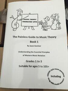 Livraison Rapide The Painless Guide To Music Theory Livre 1 Pour Âges 5-105+ Grade 1 To 3-afficher Le Titre D'origine Prix Raisonnable