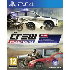 The Crew Ultimate Edition For PS4 (New & Sealed)