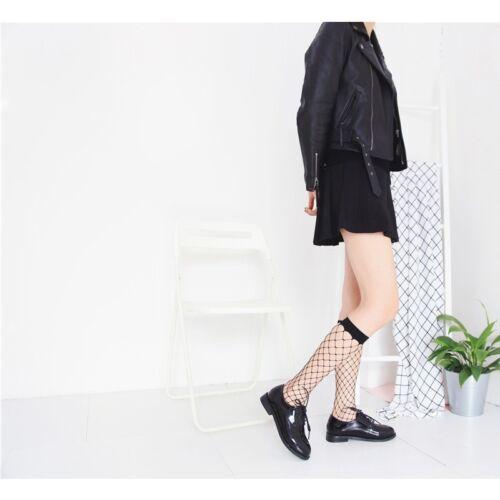 2017 Charm Women Lace Fishnet Mesh Black Ankle Socks Anklet Short Socks CA