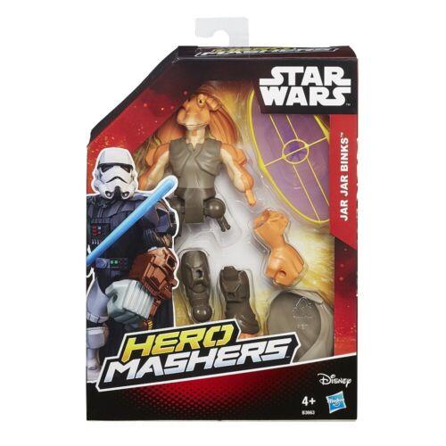 Hasbro B3656Star Wars Episodio I Carácter de exprimidoras de héroe de guerras de jar jar Binks de la estrella