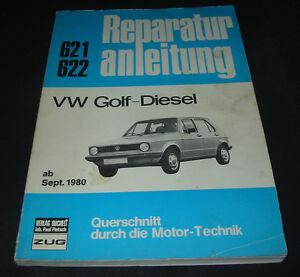 Reparaturanleitung-VW-Golf-I-Typ-17-Diesel-ab-Baujahr-September-1980