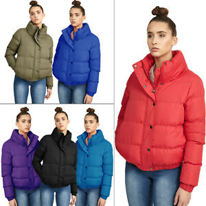b592191c546b Brave Soul Womens Slay Puffer Padded Quilted Bomber Jacket Ladies ...