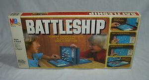 BATTLESHIP VINTAGE MILTON BRADLEY NAVAL STRATEGY ACTION GAME - 1978