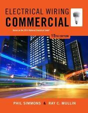 Electrical Wiring Commercial 15th edition Simmons Mullin LIKE NEW