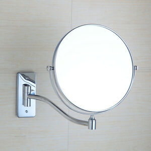 Makeup cosmetic mirror amp double sided magnifying wall mounted mirror