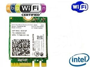Intel-Wireless-N-7260-Dual-Band-802-11a-b-g-n-WLAN-WIFI-PCIExpress-M-2-NGFF