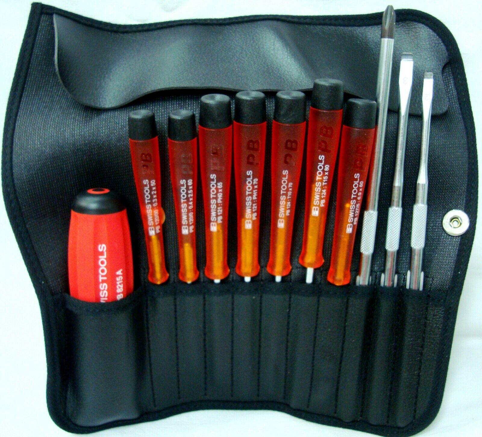 PB 8220 Prof. Screwdriver Exchangeable Blades Set for Electronics & Computer