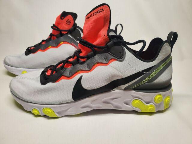 Nike React Element 55 SE Pure Platinum/black-dark Grey Bv1507-003 ...