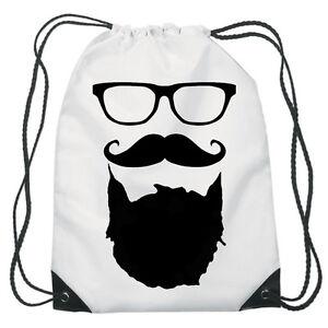 Funny barba con Cordón Pe Bolsa Gimnasio Zapatos de Natación Personalizado