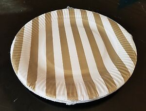 20-x-gold-stripe-paper-disposible-plates-23cm-for-all-occasion