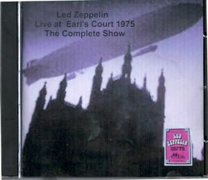 Complete Concert Led Zeppelin at Earls Court 1975 2 DVD set Dolby