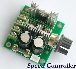 Speed-Controller-Drehzahlregler-Regler-10A-PWM-Motor-12V-40V-DC-DHL