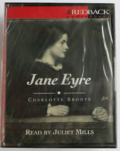 Charlotte-Bronte-by-Jane-Eyre-Abridged-Audio-Cassette-Factory-sealed-Rare