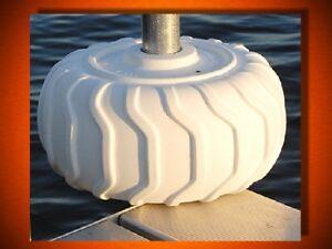 """Boat Dock Cushions Soft PVC 24"""" Piling Bumper"""