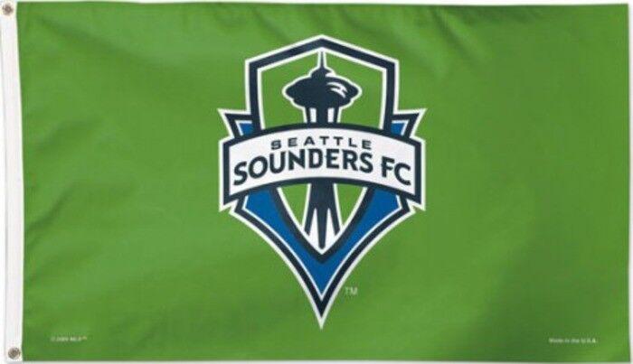 Flagge Hissflagge MLS MLS MLS Seattle Sounders 90 x 150 cm Fahne 0aca4c