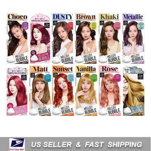MISE EN SCENE Hello Bubble Foam Color Easy Self Hair Dye Blackpink MiseEnScene    eBay