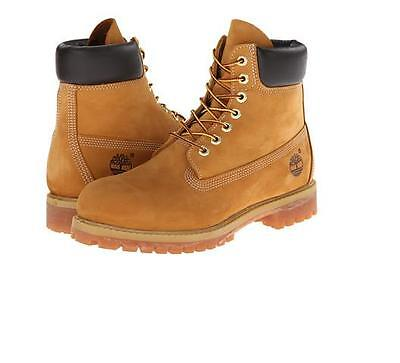 Details about Timberland Men's Boot 6 Inch Premium 10061 12909 Wheat Nubuck