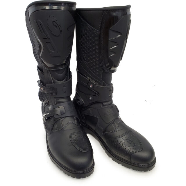 Sidi Discovery Rain Motorcycle Boots 41, Black