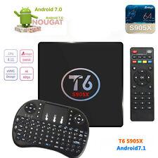 T6 Android 7.1 TV box 1G/8G Amlogic S905X tv box 4K HDMI + Tastatur