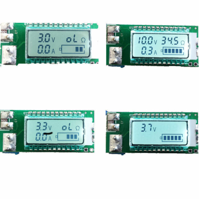 Lithium Li-ion battery tester LCD meter Voltage/Current/Capacity/ 18650 power