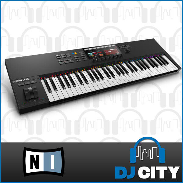 Native Instruments Komplete Kontrol S61 mk2 MIDI Keyboard w/ Komplete Select