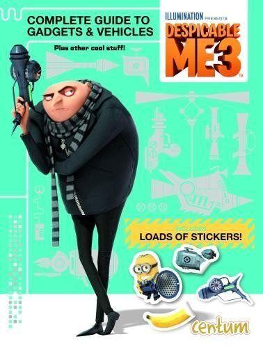 1 of 1 - Despicable Me 3 Grus Gadget's,Centum Books Ltd