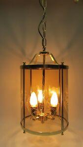 Lampen & Leuchten Neue Mode Xl Hallenlampe Flurlampe Deckenlampe Hänge Lampe Glas '60er Jahre