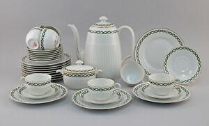99840619-Porcelain-Coffee-Service-Hutschenreuther-Hohenberg-Laurel-um-1904