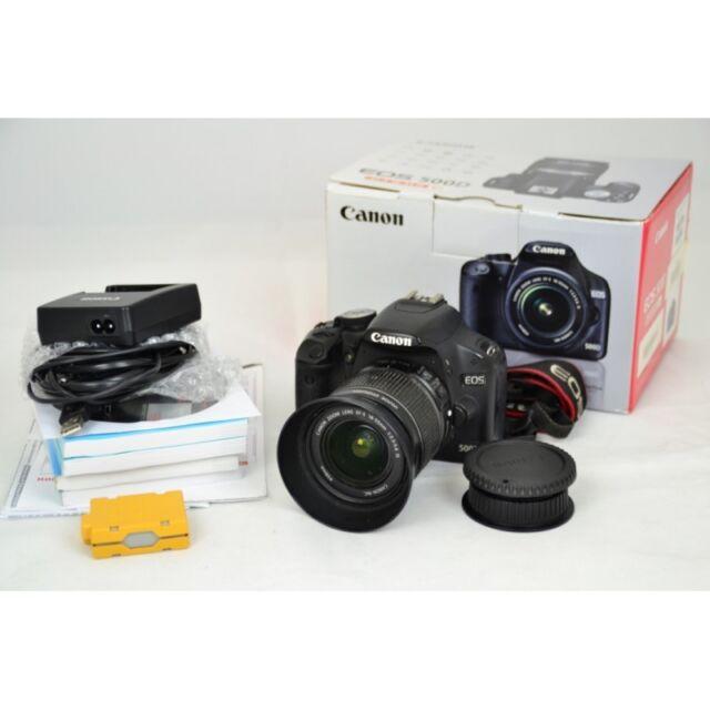 Canon EOS 500D Body SLR-Digitalkamera gebraucht OVP (15 Megapixel, LiveView, HD-